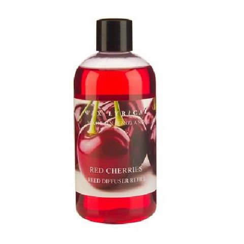 Red Cherries Fragranced Reed Diffuser Refill Made In England Wax Lyrical 250ml